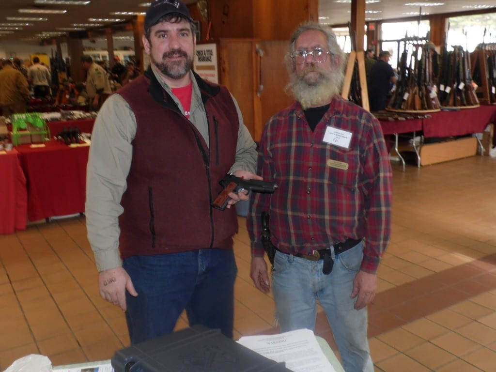 2014 Gun Owners of Vermont  Annual Raffle winner Darryl Montague.