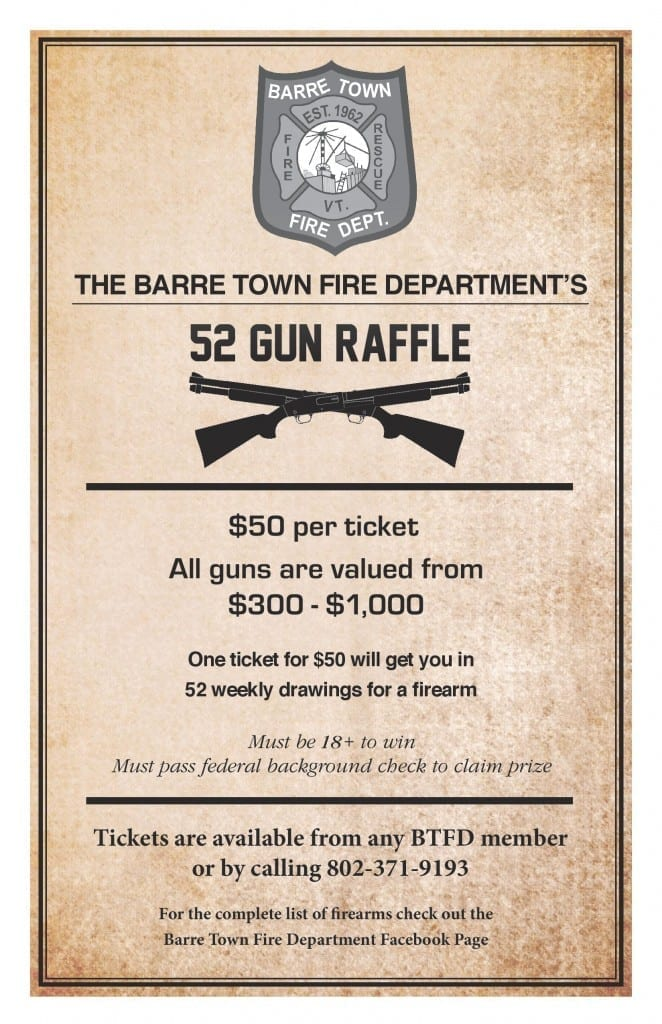 defend them gun giveaway gun owners of vermont raffle for fire department 2150