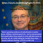 Phil Baruth - radicalized law enforcement and military